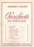 Alfredo Cuscina': Carezza Von Mama Von 10 Stück Einfache Für Klavier - Curci
