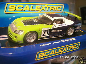 SCALEXTRIC DODGE VIPER COMPETITION NEW RELEASE C3018