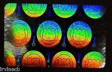 Hologram Overlays Vertical Shield and Key Inkjet Teslin ID Cards - Lot of 50