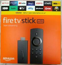 Fire TV Stick Lite HD Streaming Device - Black