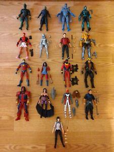 Hasbro Marvel Legends Deadpool, Warpath, Shang Chi,17 Figure Loose Lot!!!