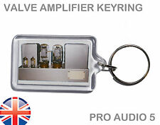 Quad Vintage Valve Amplifier Amp - Keyring - Keychain - UK FAST POST