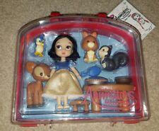 NEW Disney Store Animators' Snow White Doll Figure Mini Playset
