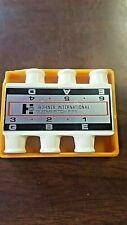 Vintage 1970/80's Hohner Guitar Pitch Pipe, crack case,