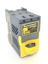 Bussmann Optima OPM-1038R Overcurrent Protection Module Fuse Holder 30 Amp 600V