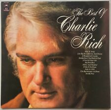 CHARLIE RICH The Best of Charlie Rich 1972 OZ Epic EX/EX