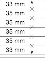 Lindner 802606P T-Blanko-Bl?tter - 10er-Packung