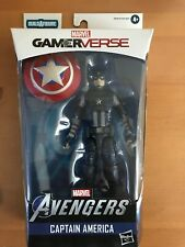 Marvel Legends Avengers Video Game Wave Captain America GameVerse IN HAND! NIB