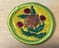 BOY SCOUTS FRUIT AND NUT GROWING  MERIT BADGE  TYPE G  NEW