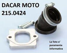 215.0424 COLLETTORE ASPIRAZIONE POLINI APRILIA SR 50 R-FACTORY (Motore Piaggio)
