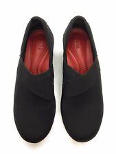 Crocs Busy Day Stretch Asymmetrical Lightweight Wedge Black Size 7