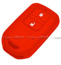 2 BTN Silicone Cover Remote Smart Key Case Shell For HONDA FIT ODYSSEY VEZEL CRV