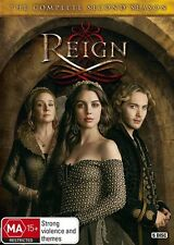 Reign : Season 2 (DVD, 2015, 5-Disc Set)