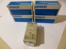 1 OMRON H3Y-2-24V DC-60S 5 AMP Timer 8 Blade (NOS In factory packaging),4 Avail.