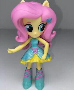 My Little Pony Equestria Girls Minis: FLUTTERSHY with Blue Yellow Glitter Skirt