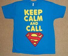 Keep Calm And Call Superman Shirt XL Licensed