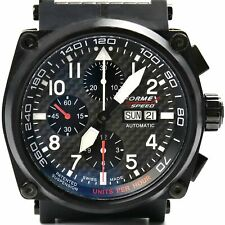 FORMEX 4Speed Swiss Automatic Chronograph Limited Edition Pilot Watch AS1100