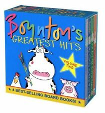 Boynton's Greatest Hits Vol. 2 : The Going to Bed Book; Horns to Toes; Opposite…