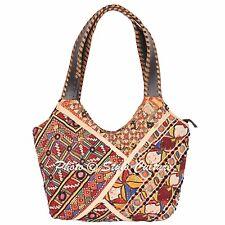Embroidered Vintage Patchwork Banjara Bag Indian Womens Boho  Bag Cotton Handbag