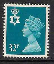 Northern Ireland 1988 NI65 32p litho phosphorised paper Regional Machin MNH
