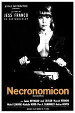 Affiche Pliée 80x120cm NECRONOMICON (SUCCUBUS) 1968 Janine Reynaud TBE