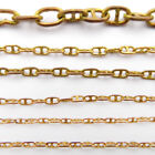 Length 1 meter Copper Railing Chain Marine Anchor Cable Spare Parts for RC Boats