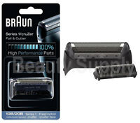 Braun 10B/20B 1000 Series 1 Shaver Replacement Foil & Cutter (197/195/190S/170S)