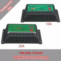LCD 10-20A PWM Panel Solar Charge Battery Charger Controller Regulator 6/12/24V