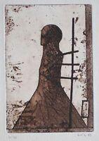 unleserlich signiert - o. T. - Radierung - 1983 - 31/40