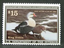RW58 1991 - MNH OG Unsigned - US Duck Stamp $15 - FREE SHIPPING