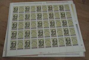 1978 Rumänien; 500 Einzelwerte Tag der Briefmarke, **/MNH, MiNr. 3560, ME 750,-