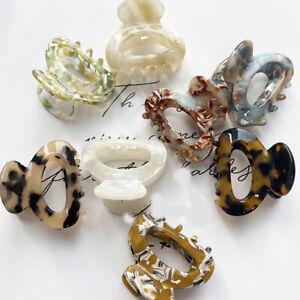 hair clip mini sweet for women's & girl hair claw chic barrettes crab hair pin