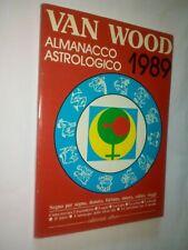 Peter Van Wood Almanacco astrologico 1989 Autografato L'astrologo della RAI