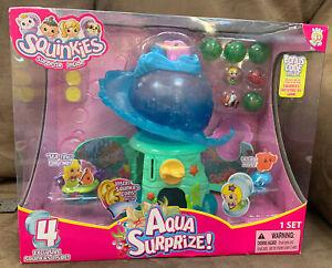 SQUINKIES AQUA SURPRIZE! 4 EXCLUSIVE SQUINKIES INSIDE SUPER FUN!!