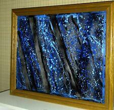 ORIGINAL ABSTRACT Painting/Blue Gray Wall Art/Blue Abstract Art/Blue Art Print