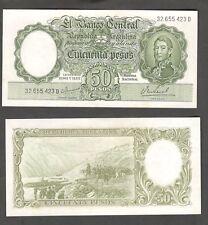 Argentina Pick 276 50 Pesos Series D UNC