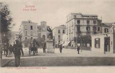 1910ca Sorrento - Napoli - piazza Tasso col monumento
