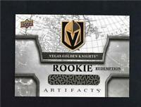 2018-19 UD Upper Deck Artifacts Rookie Redemption #RED209 Vegas Golden Knights
