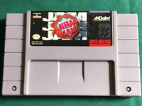 NBA Jam (SNES Super Nintendo Entertainment System, 1994) CLEANED & TESTED
