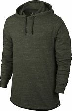 Nike $60 AIR JORDAN 23 TRUE JUMPMAN Hoodie Sweatshirt Greenish Gray - MEDIUM