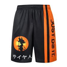 Nuevo pantalón corto deportivo Sueltas De Dragon Ball Baloncesto de hombre verano fresco Pantalones Cortos LO ÚLTIMO