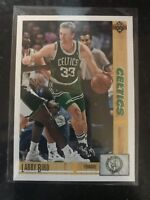 1991-92 Upper Deck Premier #344 Larry Bird Boston Celtics NMMT Basketball Card