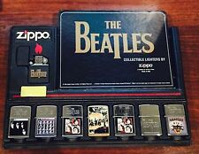 Zippo Lighter Collection (8 Pieces) The Beatles Collection Design