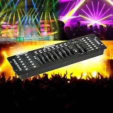 192CH DMX512 Stage Lighting Console Controller Disco Lamp Party Laser DJ Light