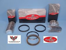 CHEVY 4.8 5.3 LM7 LR4 LY2 LY5 ENGINETECH PISTON RINGS WITH ROD AND MAIN BEARINGS