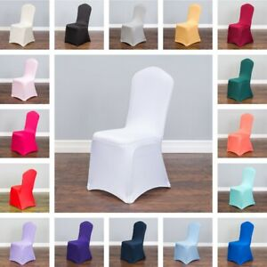Stretch Banquet Chair Covers 17 Colors! Wedding Party Event Banquet Wholesale