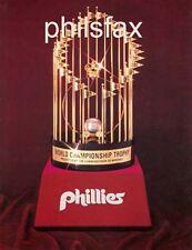 1980 PHILADELPHIA PHILLIES WORLD SERIES TROPHY COLOR REPRODUCTION PRINT