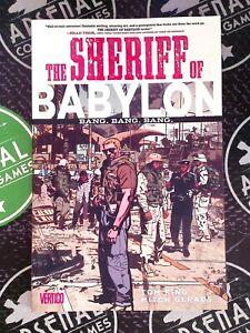 The Sheriff of Babylon Vol. 1 Vertigo 2016 Tom King Mitch Gerads 1st Print