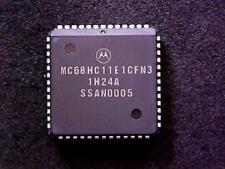 MC68HC11E1CFN3 - Motorola HC11 Microcontroller 8-Bit 3MHz ROMless (PLCC-52)
