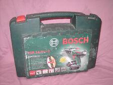 PSR 14,4 Li-2 Koffer für Bosch Akkuschrauber, LEERKOFFER! guter Allgemeinzustand